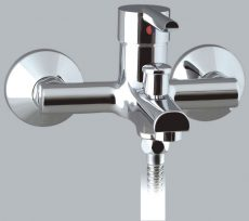Mofém MAMBO-5 kádtöltő csaptelep zuhanyszettel