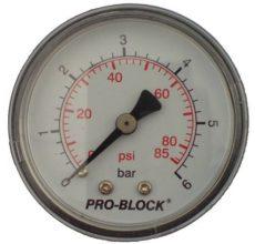 LEO Nyomásmérő 6 bar